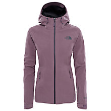 Buy The North Face Apex Flex Shell Women's Jacket, Black/Purple Online at johnlewis.com