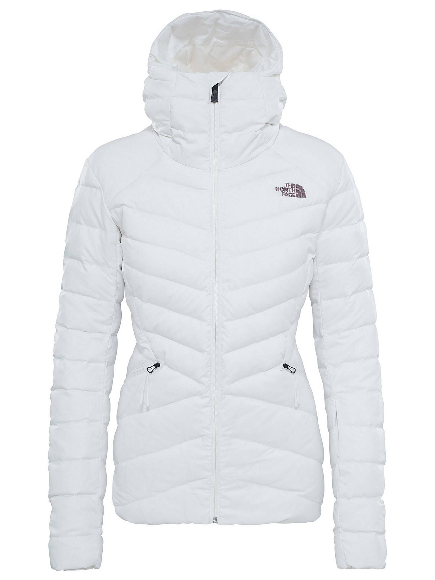 a47e28c4fb008 Buy The North Face Moonlight Down Women's Jacket, White, S Online at  johnlewis.