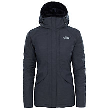 Buy The North Face Inlux Waterproof Insulated Women's Jacket, Black Heather Online at johnlewis.com