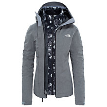 Buy The North Face Thermoball Triclimate 3-in-1 Insulated Waterproof Women's Jacket, Grey Heather Online at johnlewis.com