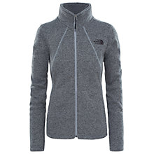 Buy The North Face Crescent Full Zip Women's Fleece Jacket, Grey Online at johnlewis.com