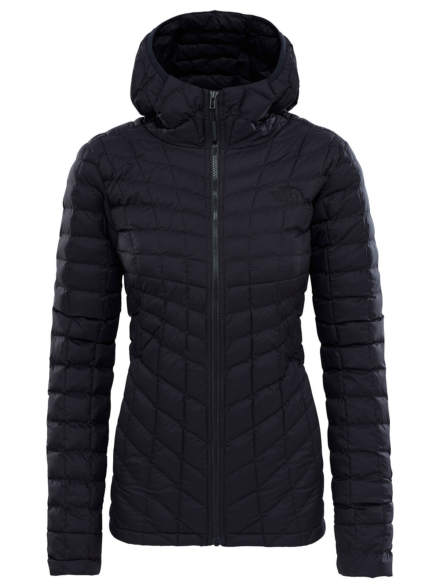 f68eed75dff1 The North Face Thermoball Hooded Women s Insulated Jacket at John ...