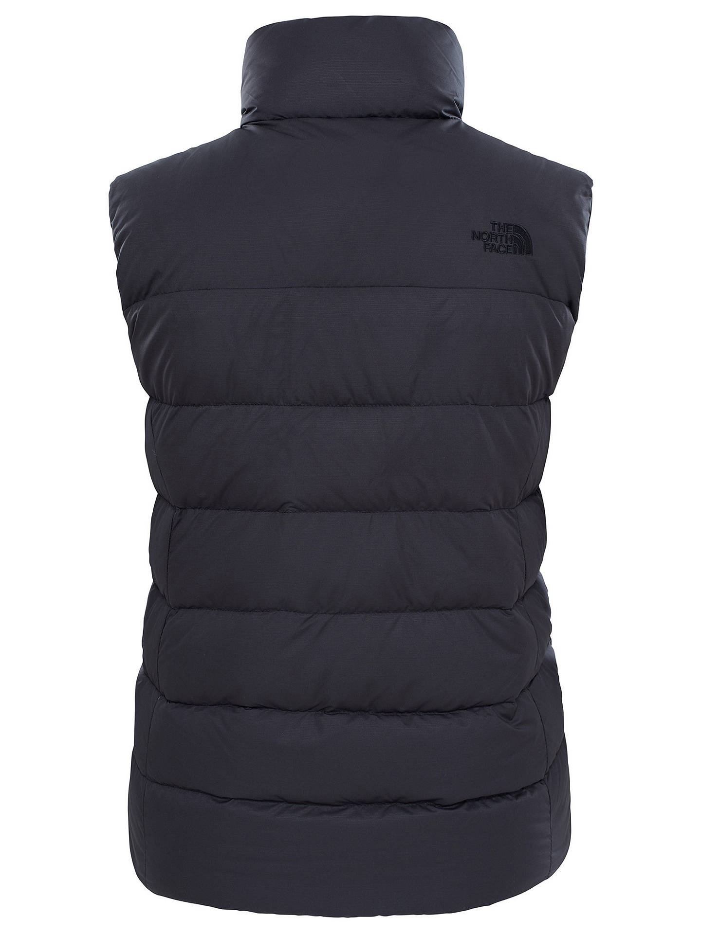Buy The North Face Nuptse Women's Insulated Gilet, Black, M Online at johnlewis.com