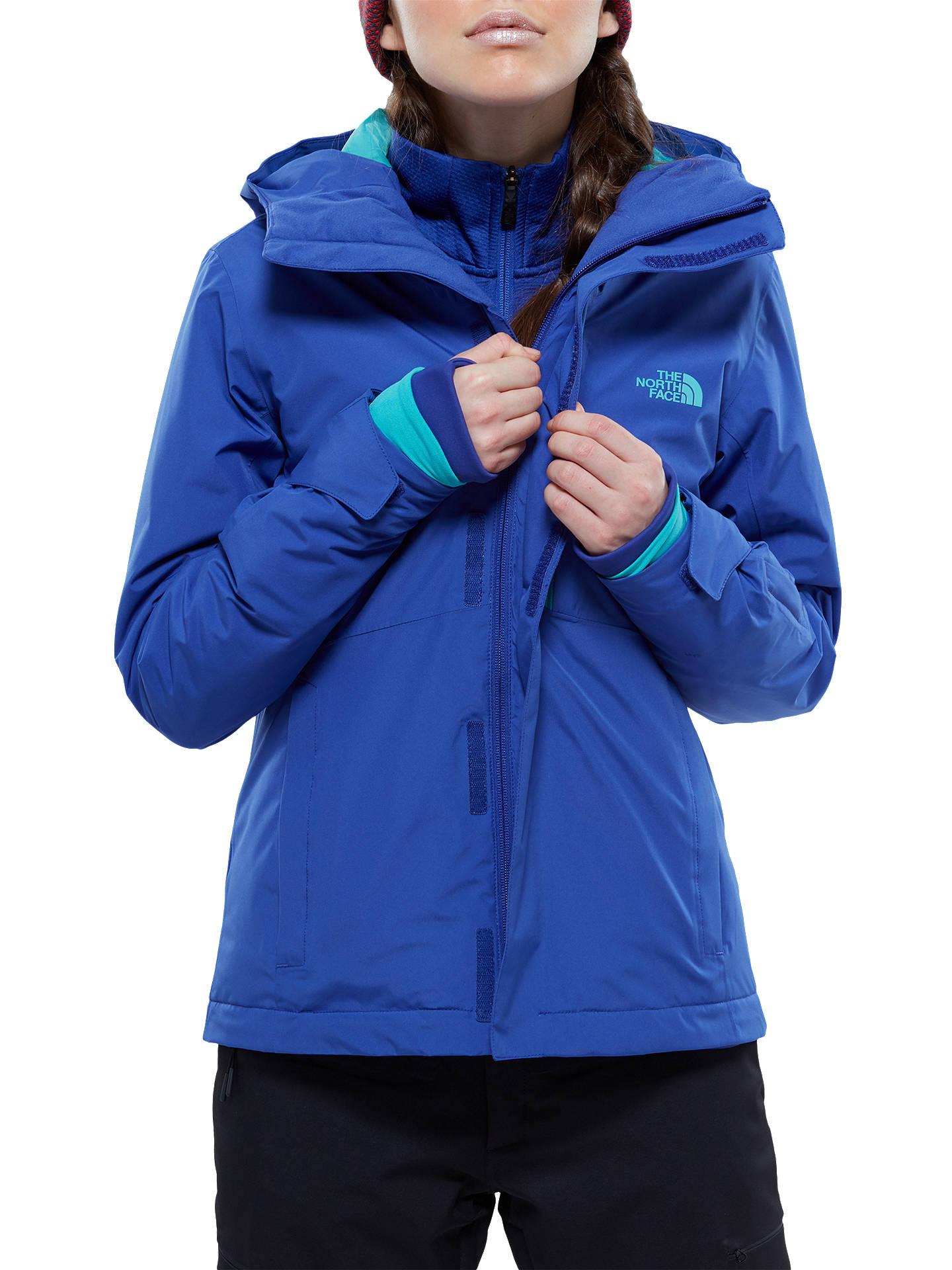 6d2dc5d1bc288 ... Buy The North Face Descendit Waterproof Women's Ski Jacket, Blue, S  Online at johnlewis