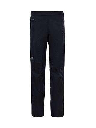 Buy The North Face Venture 2 Half Zip Waterproof Women's Trousers, Black, S Online at johnlewis.com