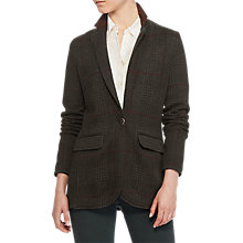 Buy Lauren Ralph Lauren Ghita Blazer, Deep Forest Green Online at johnlewis.com