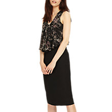 Buy Phase Eight Karli Dress, Black Online at johnlewis.com