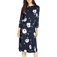 Buy Phase Eight Cassie Floral Dress, Navy Online at johnlewis.com