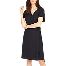 Buy Phase Eight Fallon Fine Pleat Dress, Navy Online at johnlewis.com
