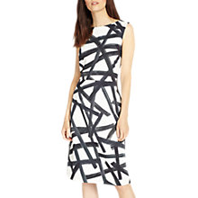 Buy Phase Eight Bea Brush Stroke Dress, Multi/Ivory Online at johnlewis.com