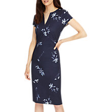 Buy Phase Eight Megan Leaf Print Dress, Slate Online at johnlewis.com