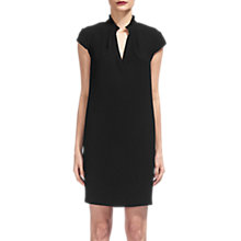 Buy Whistles Daris Cocoon Dress, Black Online at johnlewis.com