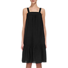 Buy Whistles Simone Sundress, Black Online at johnlewis.com