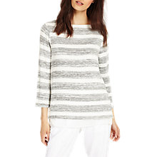 Buy Phase Eight Rae Stripe Top, Multi/Ivory Online at johnlewis.com
