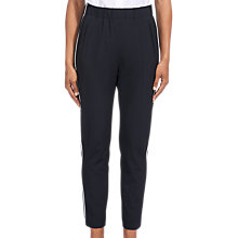 Buy Whistles Casual Side Stripe Joggers, Navy Online at johnlewis.com