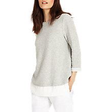 Buy Phase Eight Ola Ottoman Top, Grey Online at johnlewis.com