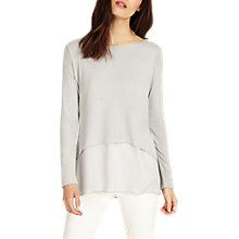 Buy Phase Eight Ciera Metallic Double Layer Top Online at johnlewis.com