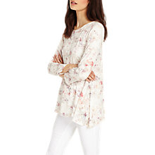 Buy Phase Eight Etta Floral Top, Multi Online at johnlewis.com