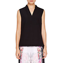 Buy Ted Baker Kayti Ruffle Sleeveless Top Online at johnlewis.com