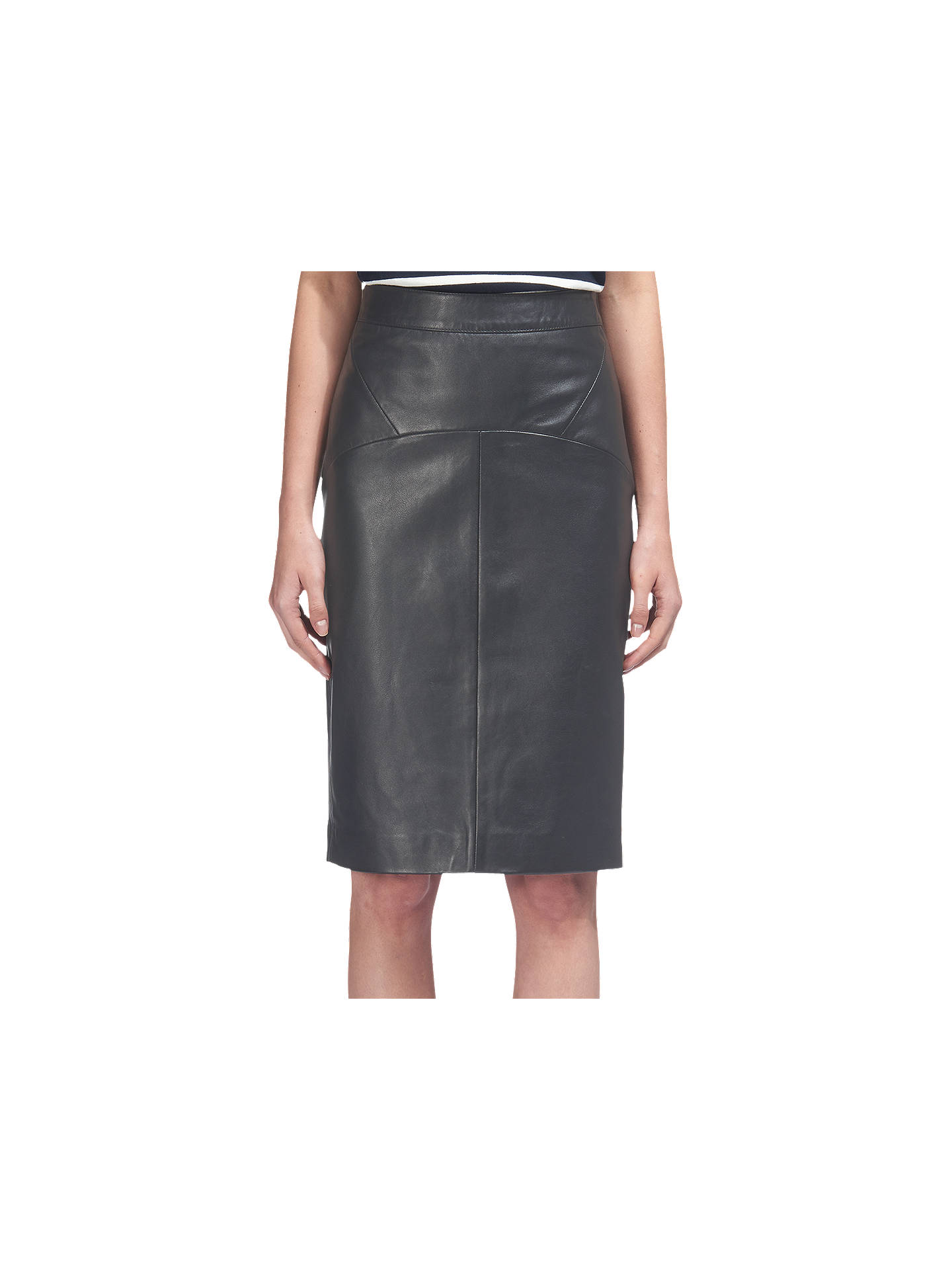 54fc34ef5869 Buy Whistles Kel Leather Pencil Skirt