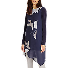 Buy Phase Eight Vinny Floral Tunic, Navy Online at johnlewis.com