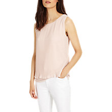Buy Phase Eight Polly Pleat Top, Pale Pink Online at johnlewis.com