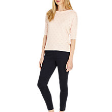 Buy Phase Eight Sasha Sateen Finish Jeans, Navy Online at johnlewis.com