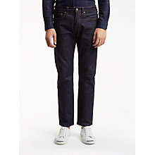 Buy PS by Paul Smith Standard Fit Crosshatch Jeans, Rinse Online at johnlewis.com