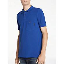 Buy PS by Paul Smith Pocket Polo Shirt, Indigo Online at johnlewis.com