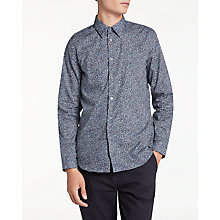 Buy PS by Paul Smith Mini Marbles Long Sleeve Shirt, Sky Online at johnlewis.com