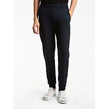 Buy PS by Paul Smith Supersoft Track Bottom Trousers, Navy Online at johnlewis.com