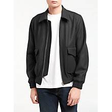 Buy PS by Paul Smith Wool Flight Jacket, Navy Online at johnlewis.com