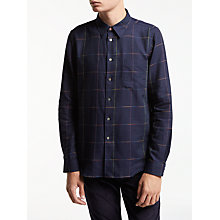 Buy PS by Paul Smith Multi Check Shirt, Navy Online at johnlewis.com