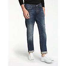 Buy PS by Paul Smith Tapered Fit Jeans, Mid Wash Online at johnlewis.com