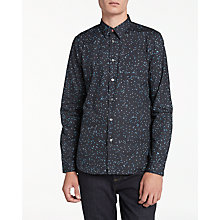 Buy PS by Paul Smith Jigsaw Print Long Sleeve Shirt, Navy Online at johnlewis.com