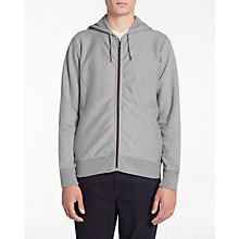 Buy PS by Paul Smith Full Zip Contrast Hoodie, Grey Online at johnlewis.com