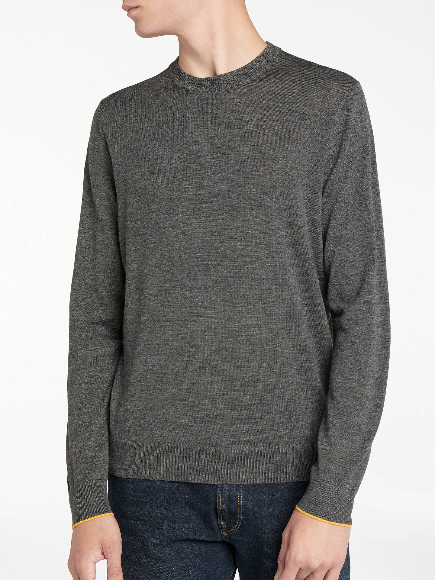 3320630aa22 PS by Paul Smith Merino Crew Neck Jumper at John Lewis   Partners