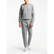 Buy PS by Paul Smith Cuffed Joggers, Grey Marl Online at johnlewis.com