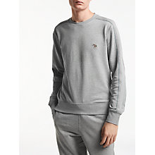 Buy PS by Paul Smith Contrast Stitch Logo Sweatshirt Online at johnlewis.com