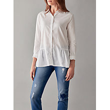 Buy Great Plains Arabel Embroidered Anglais Shirt, White Online at johnlewis.com