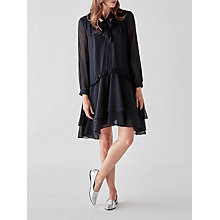 Buy Great Plains Tatiana Woven Dress, Classic Navy Online at johnlewis.com