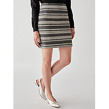 Buy Great Plains Ula Stitch Mini Skirt, Multi Online at johnlewis.com