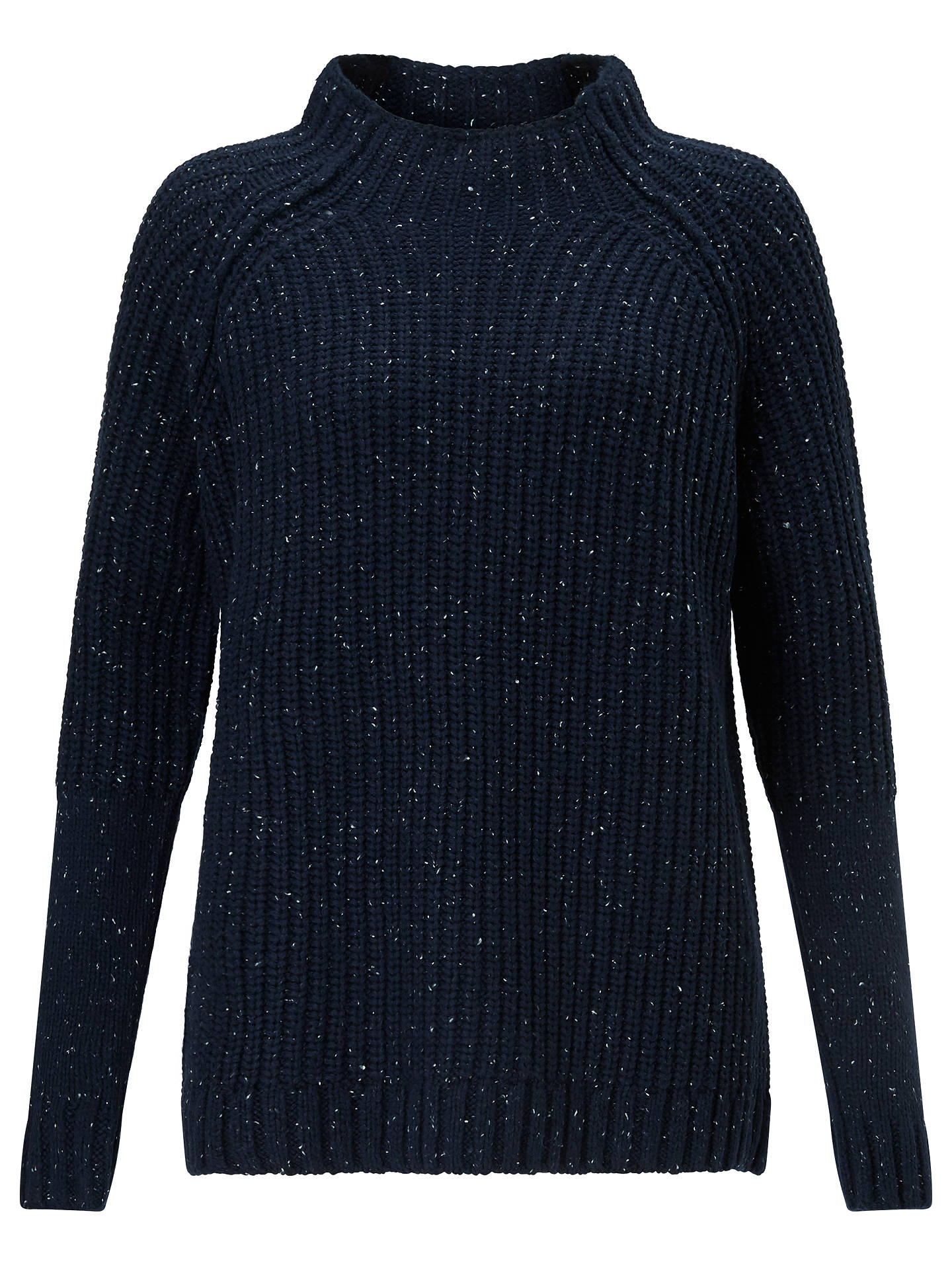 ea8094df5 Great Plains Speckle Knit Polo Neck Jumper
