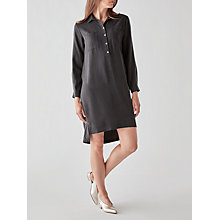 Buy Great Plains Bryony Tunic Shirt Dress, Granite Grey Online at johnlewis.com