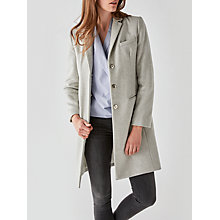Buy Great Plains Nipper Wool Blend Coat, Oyster Online at johnlewis.com