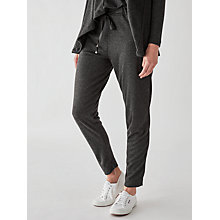 Buy Great Plains Sydney Posh Joggers, Granite Grey Melange Online at johnlewis.com