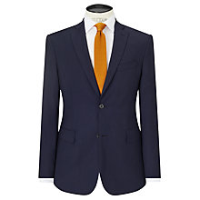 Buy J.Lindeberg Soft Comfort Wool Slim Fit Suit Jacket, Navy Online at johnlewis.com