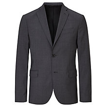 Buy J.Lindeberg Soft Comfort Wool Slim Fit Suit Jacket, Light Grey Online at johnlewis.com