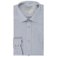 Buy Ted Baker Giara Semi Plain Tailored Fit Shirt Online at johnlewis.com