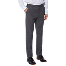 Buy Ted Baker Vienat Check Tailored Suit Trousers, Grey Online at johnlewis.com